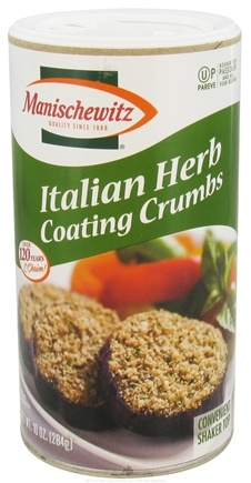 DROPPED: Manischewitz - Italian Herb Coating Crumbs - 10 oz.