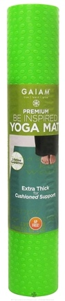 DROPPED: Gaiam - Premium Yoga Mat Be Inspired Print - CLEARANCE PRICED