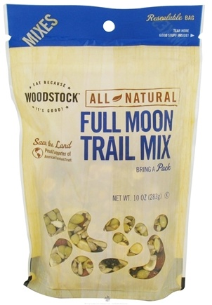 DROPPED: Woodstock Farms - All-Natural Full Moon Trail Mix - 10 oz. CLEARANCE PRICED