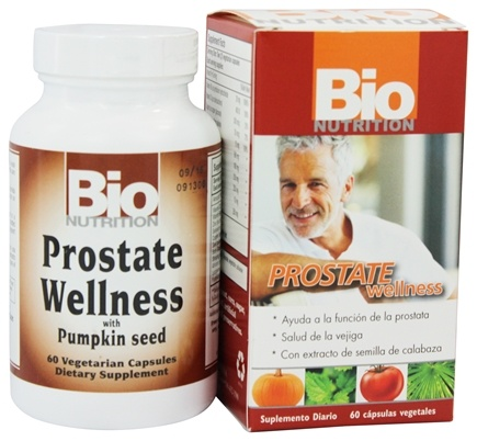 DROPPED: Bio Nutrition - Prostate Wellness - 60 Vegetarian Capsules
