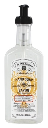 DROPPED: JR Watkins - Natural Home Care Hand Soap Orange Citrus - 11 oz.