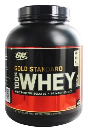 Optimum Nutrition - 100% Whey Gold Standard Protein Chocolate Peanut Butter - 3.31 lbs.