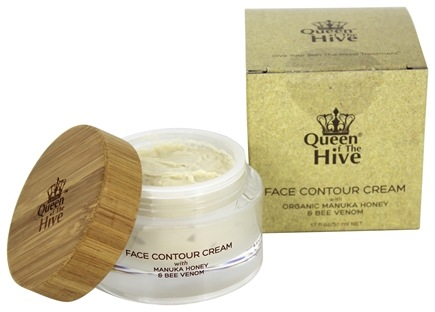 DROPPED: Wedderspoon - Queen of The Hive Face Contour Cream with Manuka Honey & Bee Venom - 1.7 oz. The Hive Face Contour Mask with Manuka Honey & Bee Venom