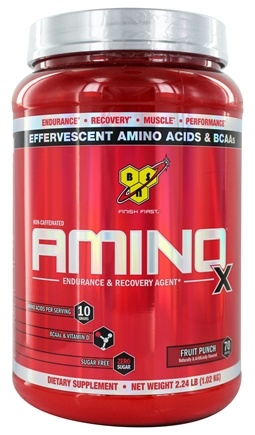 Zoom View - Amino X BCAA Endurance and Recovery Agent