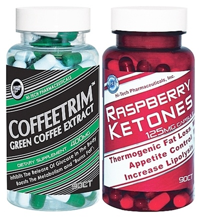 DROPPED: Hi-Tech Pharmaceuticals - Green Coffee Extract & Raspberry Ketone Pack - CLEARANCE PRICED