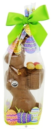 Zoom View - Standing Bunny Milk Chocolate Honeybush Caramel