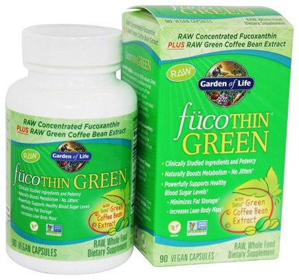 Buy Garden of Life - FucoThin Green With Svetol Green Coffee Bean ...