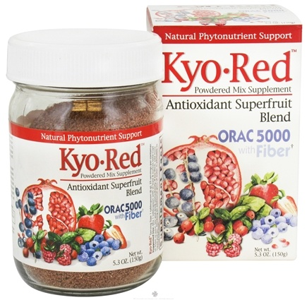 DROPPED: Kyolic - Kyo-Red Powdered Mix Supplement Antioxidant Superfruit Blend - 5.3 oz. CLEARANCE PRICED