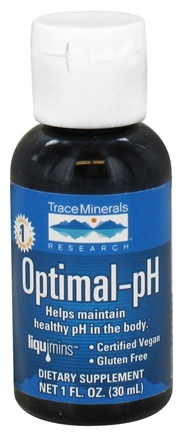 DROPPED: Trace Minerals Research - Optimal-pH - 1 oz. CLEARANCE PRICED