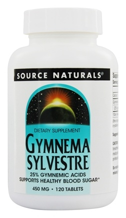 Source Naturals - Gymnema Sylvestre 450 mg. - 120 Tablets