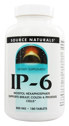 Source Naturals - IP6 Inositol Hexaphosphate 800 mg. - 180 Tablets