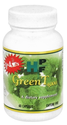 DROPPED: Healthy Origins - HPF Green T 4,000 Caffeine Free 250 mg. - 60 Capsules CLEARANCE PRICED