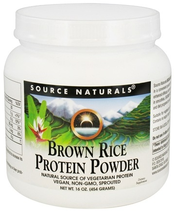Source Naturals - Brown Rice Protein Powder - 16 oz.