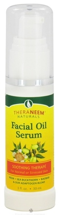 Zoom View - TheraNeem Naturals Facial Oil Serum Soothing Therape for Normal Skin