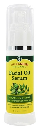 Zoom View - TheraNeem Naturals Facial Oil Serum Balancing Therape for Oily Skin