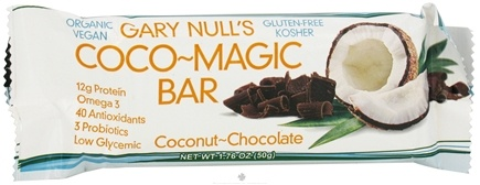 DROPPED: Gary Null's - Cocoo Magic Bar Coconut-Chocolate - 1.76 oz.