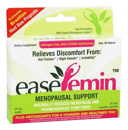 NaturaNectar - EaseFemin Menopausal Support - 30 Vegetable Capsule(s)