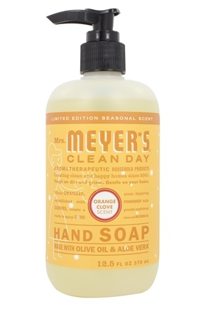 DROPPED: Mrs. Meyer's - Clean Day Liquid Hand Soap Orange Clove Scent - 12.5 oz.