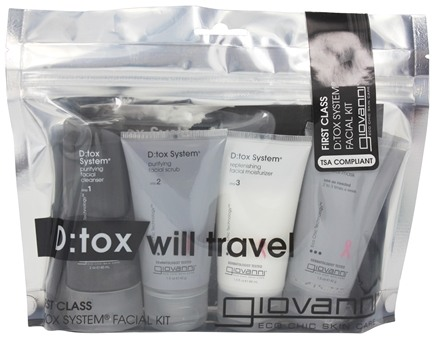 Giovanni - Flight Attendant First Class D:Tox System Facial Kit - 4 Piece(s)