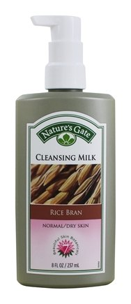 DROPPED: Nature's Gate - Cleansing Milk For Normal To Dry Skin Rice Bran - 8 oz.