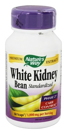 Nature's Way - White Kidney Bean 1000 mg. - 60 Vegetarian Capsules