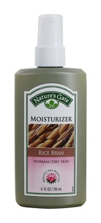 DROPPED: Nature's Gate - Moisturizer For Normal To Dry Skin Rice Bran - 4 oz.