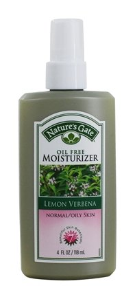 DROPPED: Nature's Gate - Moisturizer For Normal To Oily Skin Lemon Verbena - 4 oz.