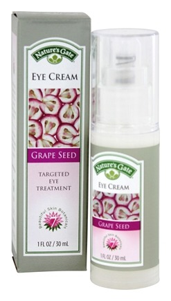 Nature's Gate - Eye Cream Targeted Eye Treatment Grape Seed - 1 oz.