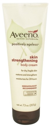 DROPPED: Aveeno - Active Naturals Positively Ageless Skin Strengthening Body Cream - 7.3 oz. CLEARANCE PRICED