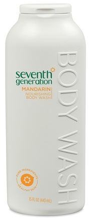 DROPPED: Seventh Generation - Body Wash Nourishing Mandarin - 15 oz. CLEARANCE PRICED