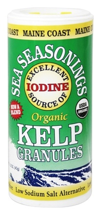 Maine Coast Sea Vegetables - Sea Seasonings Organic Kelp Granules - 1.5 oz.