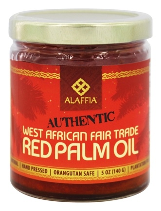 DROPPED: Alaffia - Authentic West African Red Palm Oil - 5 oz.