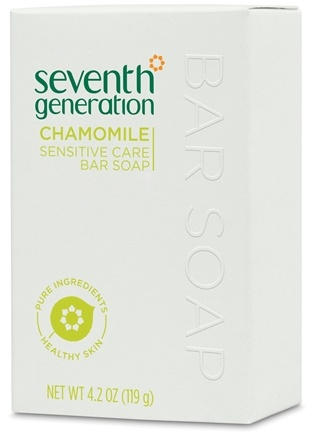 DROPPED: Seventh Generation - Bar Soap Sensitive Care Chamomile - 4.2 oz.
