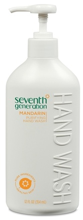 DROPPED: Seventh Generation - Hand Wash Purifying Mandarin - 12 oz.