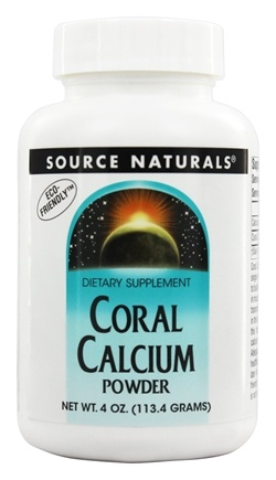 DROPPED: Source Naturals - Coral Calcium Powder - 4 oz.