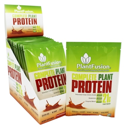 DROPPED: PlantFusion - Complete Plant Protein Chocolate Raspberry - 12 Packet(s)