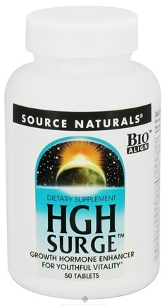 DROPPED: Source Naturals - HGH Surge - 50 Tablets CLEARANCE PRICED
