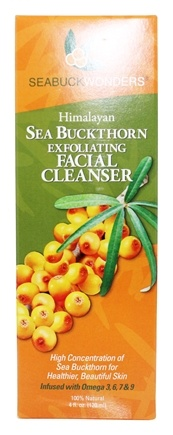 Seabuck Wonders - Facial Cleanser Exfoliating Himalayan Sea Buckthorn - 4 oz.