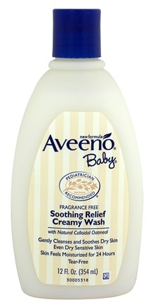 Zoom View - Baby Soothing Relief Creamy Wash