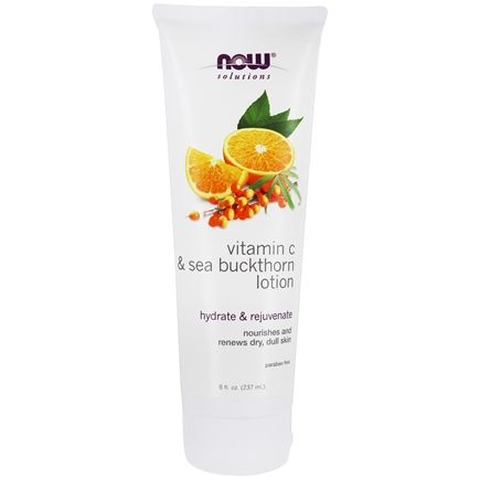 NOW Foods - Vitamin C & Sea Buckthorn Lotion - 8 oz.