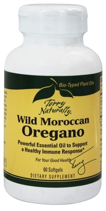 DROPPED: EuroPharma - Terry Naturally Wild Moroccan Oregano - 60 Softgels