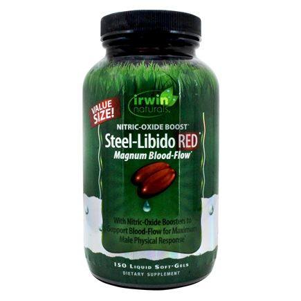 Irwin Naturals - Steel-Libido RED - 150 Softgels