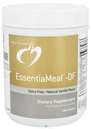DROPPED: Designs For Health - EssentiaMeal -DF Natural Vanilla Flavor - 450 Grams DAILY DEAL
