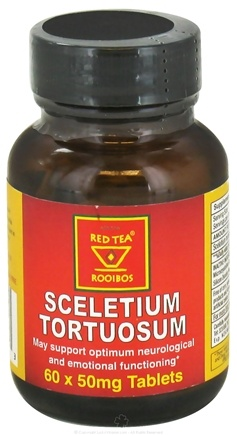 DROPPED: African Red Tea Imports - Sceletium Tortuosum 50 mg. - 60 Tablet(s)