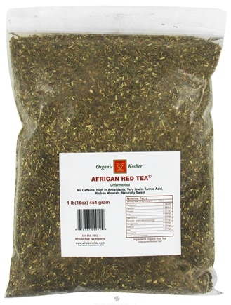 DROPPED: African Red Tea Imports - Rooibos Loose Tea Unfermented - 1 lb. CLEARANCE PRICED