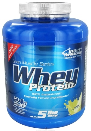 DROPPED: Inner Armour - Whey Protein Vanilla - 5 lbs. CLEARANCE PRICED