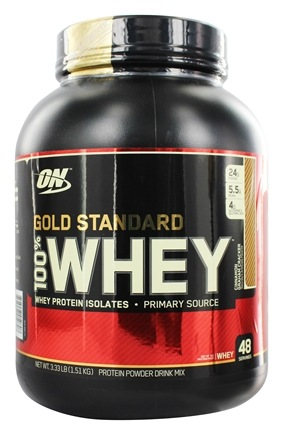 DROPPED: Optimum Nutrition - 100% Whey Gold Standard Protein Cinnamon Graham Cracker - 3.33 lbs.