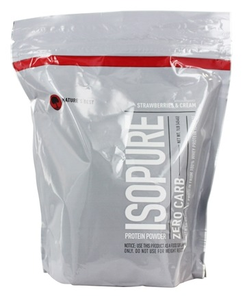 DROPPED: Nature's Best - Isopure Perfect Zero Carb Strawberries & Cream - 1 lb.