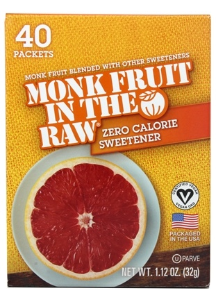 Zoom View - Monk Fruit In The Raw Natural Sweetener