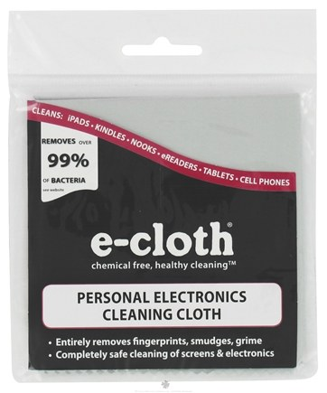 DROPPED: E-Cloth - Personal Electronics Cleaning Cloth - 1 Cloth(s)